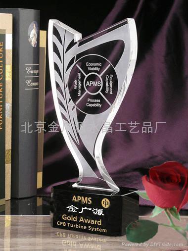 北京水晶獎杯製作 1