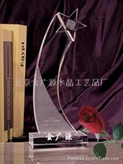 北京水晶奖牌51665526