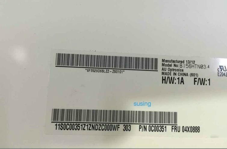 Lenovo U530 N156BGE-EA1 assembly