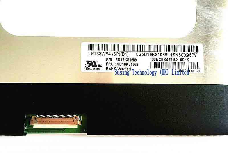 5d10k81089 LP133WF4-SPB1 N133HCE-GP1 Touch Lenovo Ideapad 710S-13 Assembly