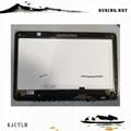 09F8C8 B156HAT01.0 LTN156FL01-D01 Touch Screen Dell inspiron  7547 7548 Assembly