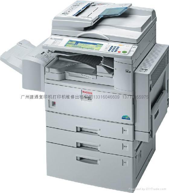 广州越秀区理光复印机 1