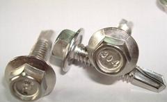 410不锈钢十字槽盘头自钻自攻螺钉GB15856.1