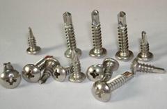 410不锈钢五号尾钻尾螺钉能一次性穿透12MM厚板
