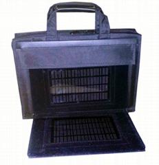 solar laptop charger bag