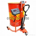 手推(拖)油桶铁桶胶桶搬运电子