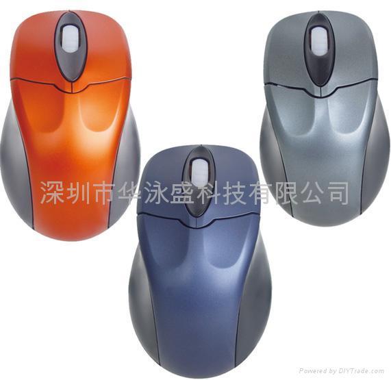 USB optical mouse, 4