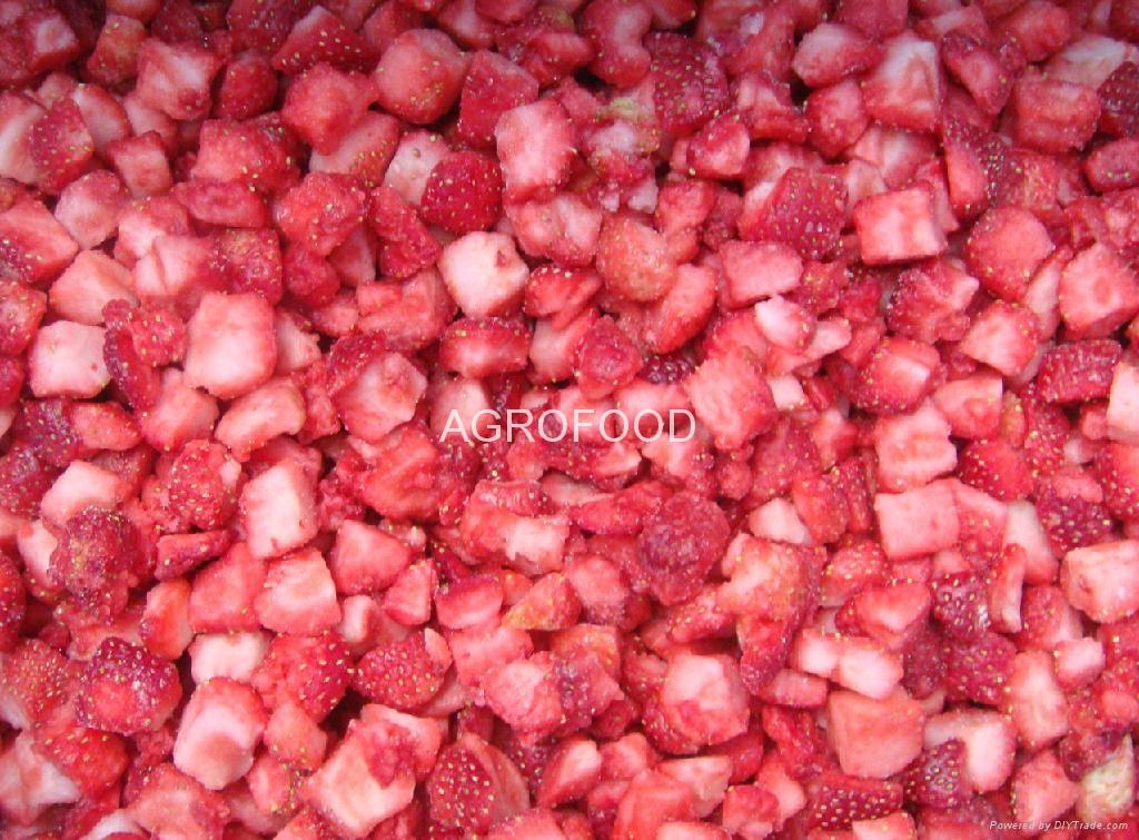 IQF strawberries 4