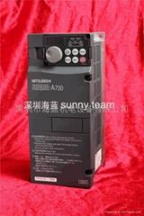 原裝三菱變頻器FR-A720-3.7K三相220V日本產廣東 深圳代理