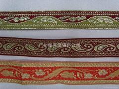 服装辅料织带 提花带 绣花织带
