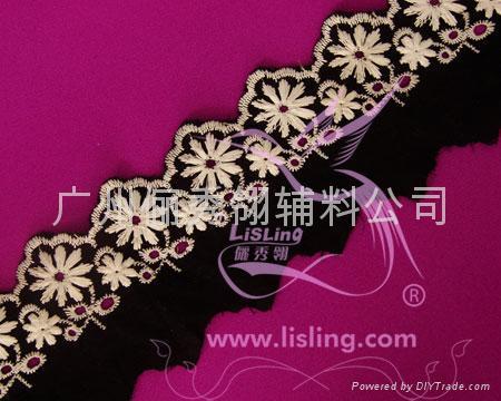 刺繡花邊 4