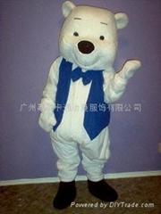 卡通人偶服装绅士熊