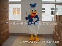 广州卡通服装唐老鸭卡通人偶服装
