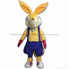 袋鼠卡通人偶服装吉祥物
