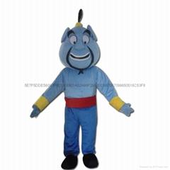 阿拉丁神灯卡通人偶服装吉祥物