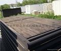 Steel wooden foundation