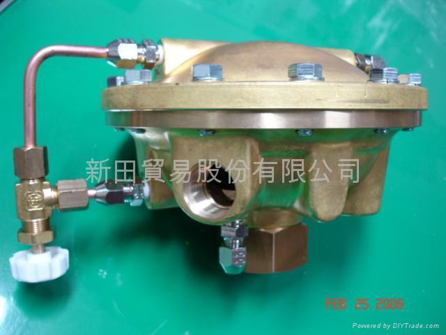 鋼瓶,配管用調整器與配件 4