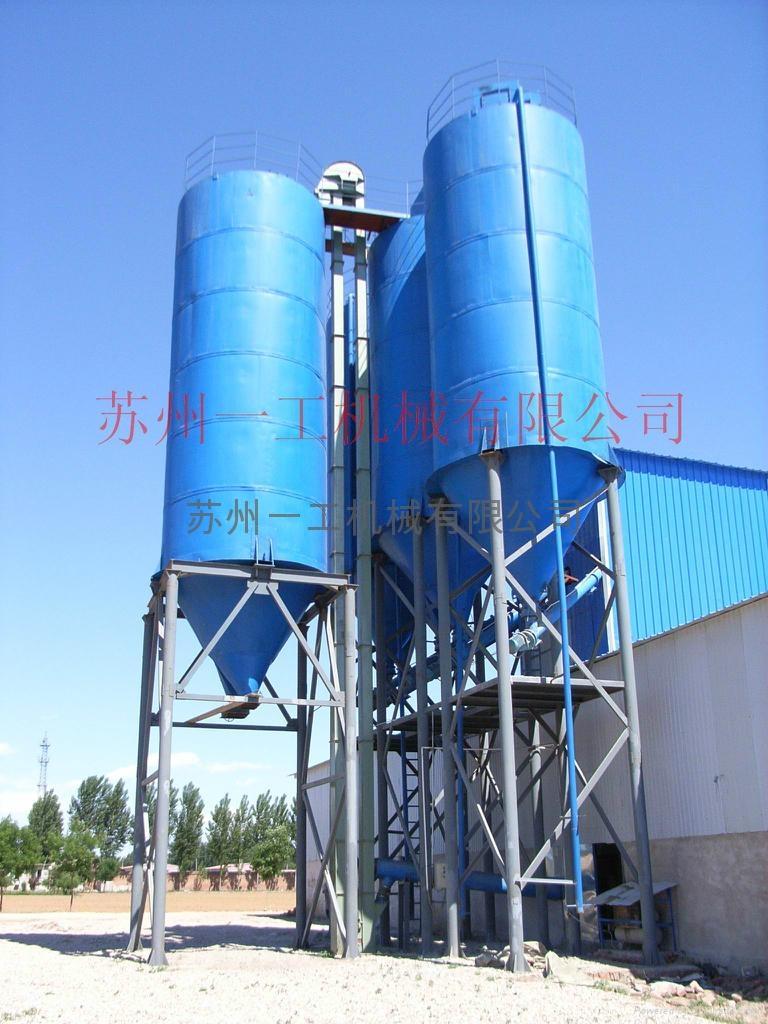 塔樓式干粉砂漿設備 5