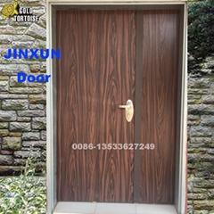 3ft double Israeli security door PVC coated