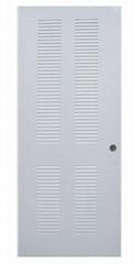 Steel louver door ,steel panel doors,American steel door