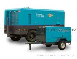 四川成都復盛埃爾曼PDSJ630柴動空壓機高效率低油耗 2