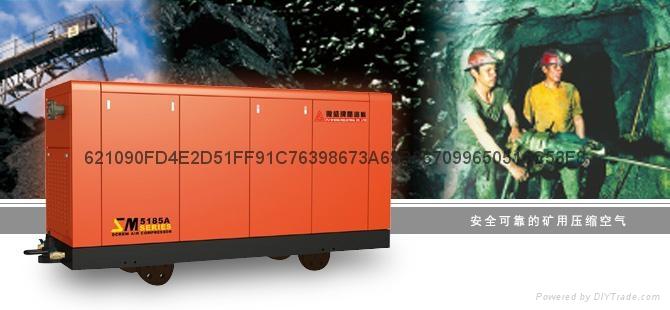四川成都復盛埃爾曼PDSJ630柴動空壓機高效率低油耗 4