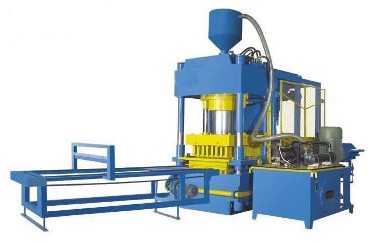 液壓全自動彩色透水路面磚機械設備 4