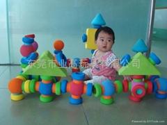 定做儿童EVA積木玩具