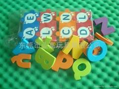 儿童学习EVA字母