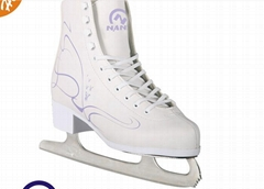 Winter sport shoe adult ice figure hockey skate stainless steel blade skate shoe