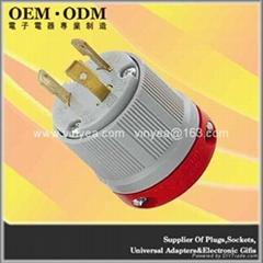NEMA L6-30 防松插頭