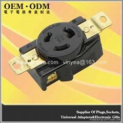 NEMA L5-20 Locking Receptacle