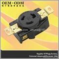 NEMA L6-20 Locking Receptacle
