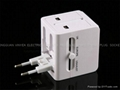 UNIVERSAL ADAPTER WITH USB Charger
