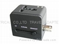 全球通转换插座(带双USB充电器)