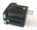 Universal Travel Adapter With DUAL USB Charger