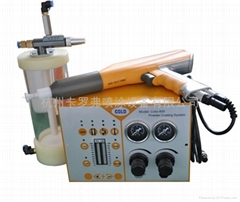 Portable  powder coating kit