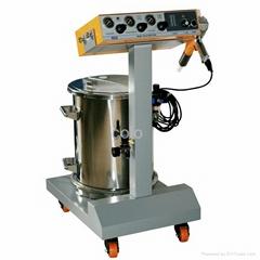 Powder coating machine/system