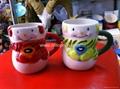 Ceramic mug for Xmas decoration 1