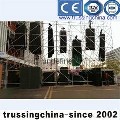 scaffolding truss layer truss back ground truss