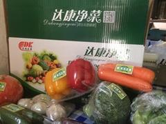 無公害楊凌箱裝蔬菜