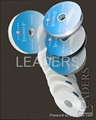 poly-cotton label tape with coating