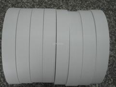 Woven Edge Poly-cotton label ribbon
