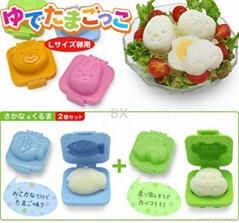 egg molds, sushi molds, rice molds