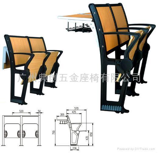 階梯課桌椅 5