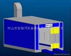打磨房BC-580D 带底座