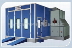 spray booth BC-718 fuel oil type
