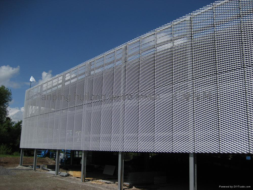 Mesh Curtain Wall : Decorative wire mesh zsb china manufacturer curtain