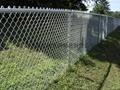 hillside fence BW-05
