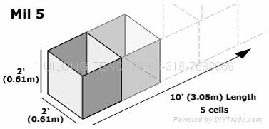 Earthen Filled barriers WL-05 3